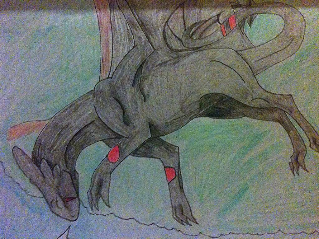 Shudaar:  Master of Lightning Shudaar_asleep_by_thegraydragon-d8l92ef