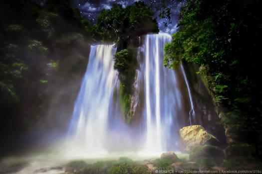 Night at the Waterfalls