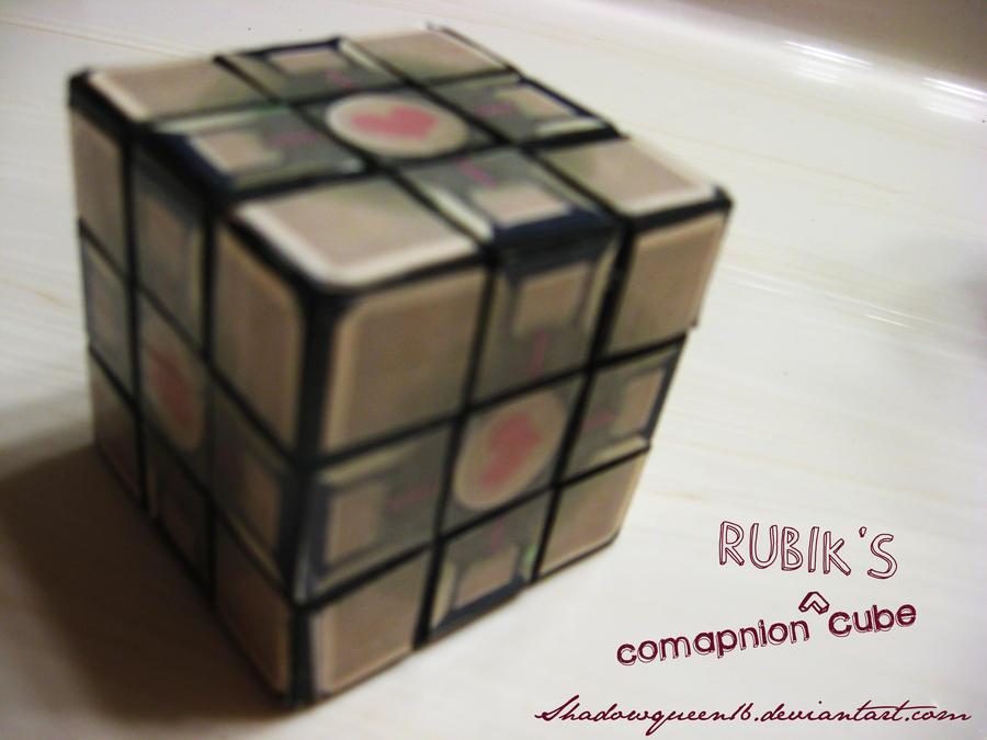Companion Rubik's Cube by shadowqueen16