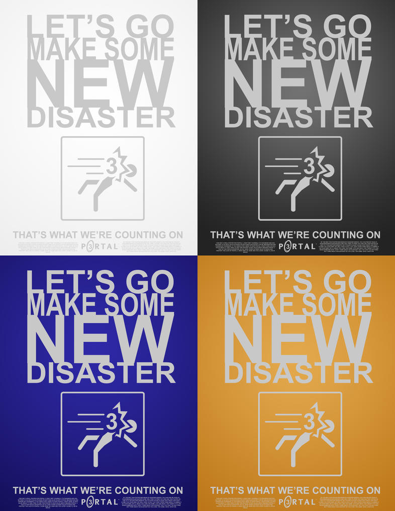 Portal 3 Poster Concepts