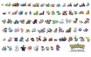 Super Derp All Isshu Pokemon by c4tman