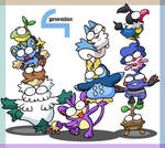 pokemon generation 4 towers