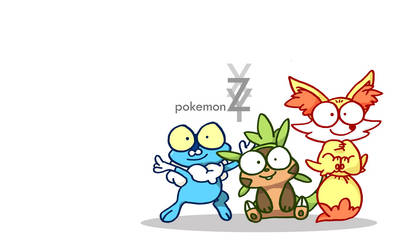 pokemon VI starters DERP DERP