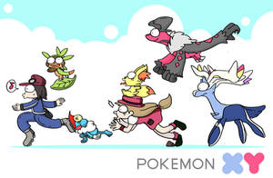 welcome POKEMON X + Y