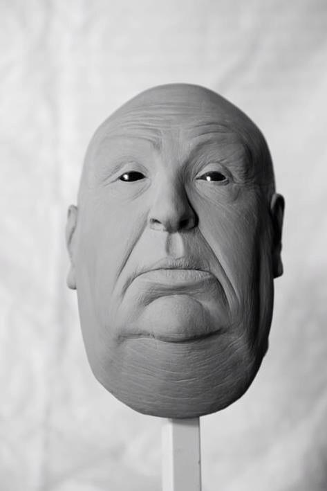 Alfred Hitchcock by AriadnaCanela1979