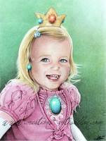 Princess Peach by ArtisAllan