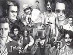Ballpen Art - Johnny Depp