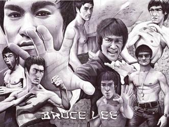 Bruce Lee by ArtisAllan