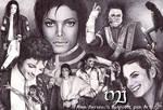Michael Jackson with a Biro
