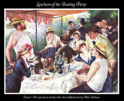 Luncheon of the Boating Party by ArtisAllan