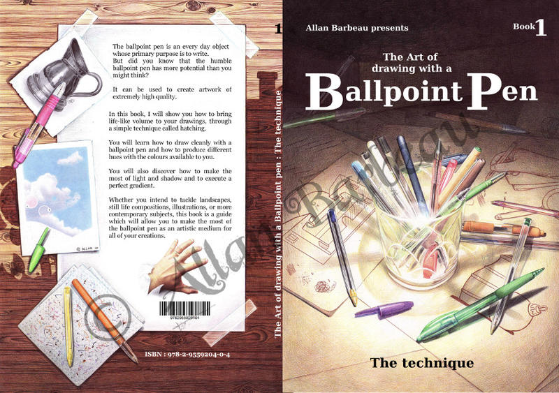 The ballpoint pen art book by ArtisAllan