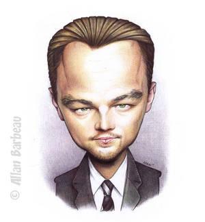 Caricature Leonardo DiCaprio