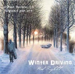 Winter Driving by ArtisAllan
