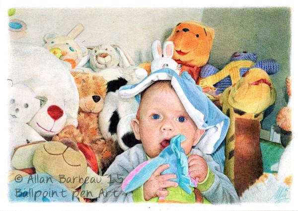 Stuffed animals by ArtisAllan