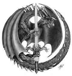 Black Dragon by ArtisAllan