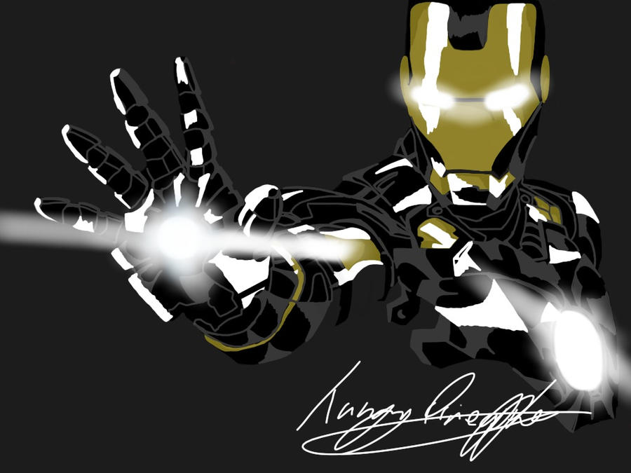 black iron man by tangypineapple on DeviantArt