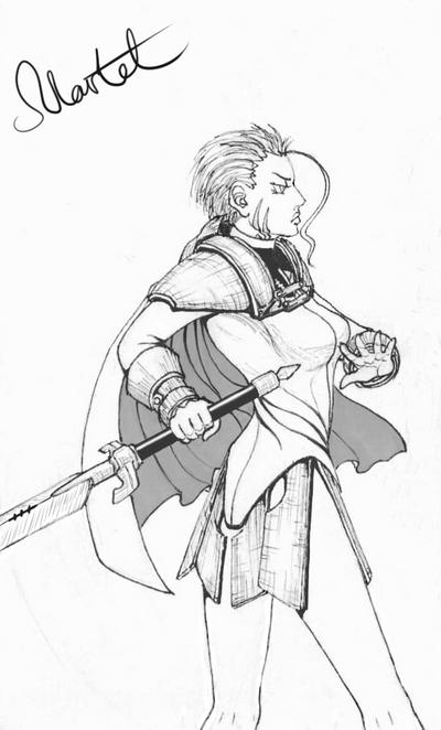 Claymore!Martel by Gehen