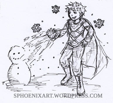 Daily Drawing 2019 - 05 October - Inktober Freeze
