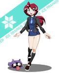 Lorelei - Ice Trainer by Azielarcangel