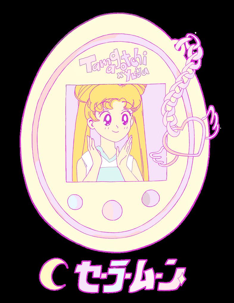 Sailor Moon Tamagotchi by CrazyLittleZebra
