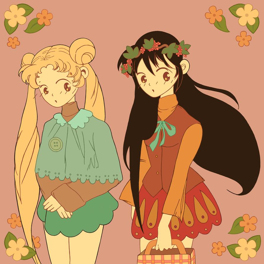 Autumn Flower Sailor Moon! by CrazyLittleZebra