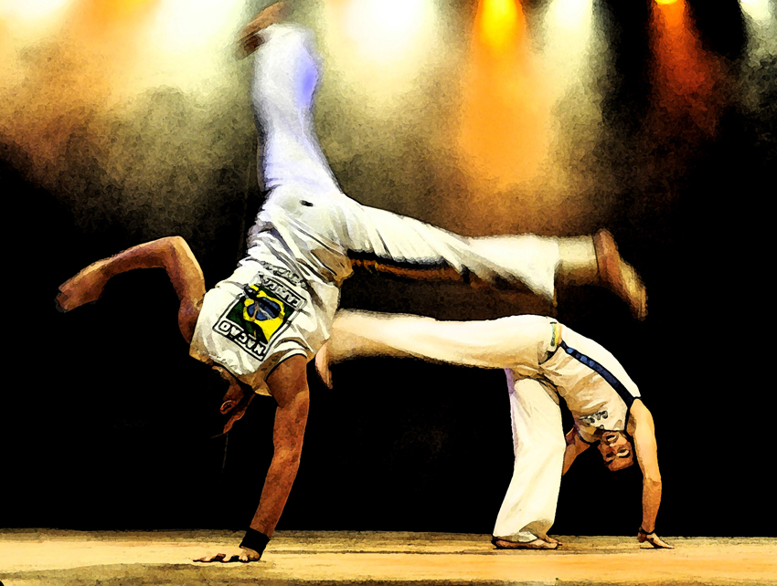 Capoeira by P-a-i-k-e-a