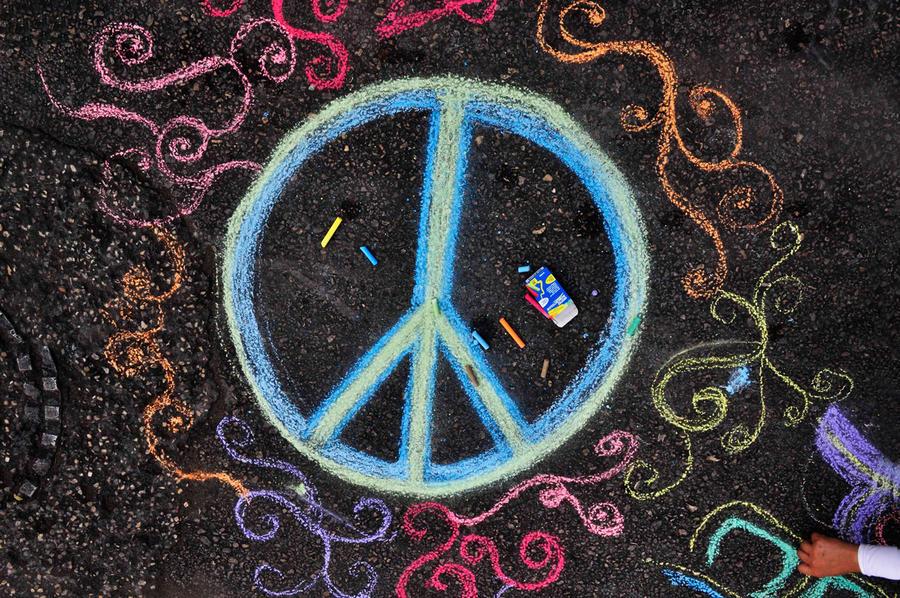 Spread Peace by P-a-i-k-e-a