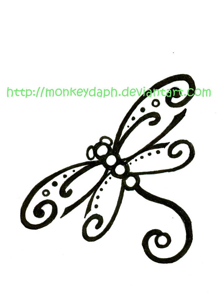 dragonfly tattoos. Libelula. Posted by SW at 6:38 PM