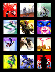 X-Men + Brotherhood Vignettes