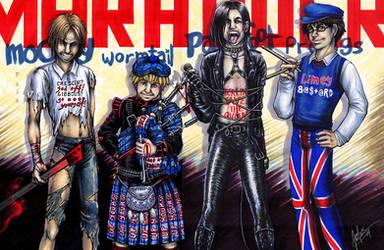 MWPP as a punk rock band by princefala
