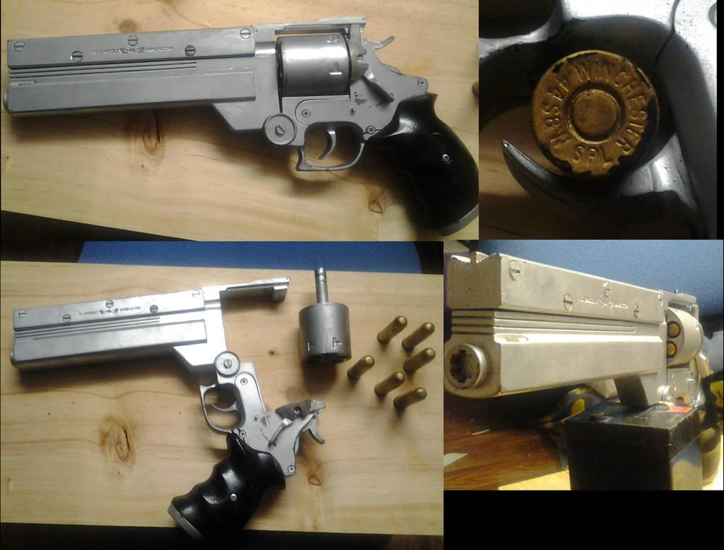 Trigun Vash the Stampede Replica Gun FOR SALE by wataglue on