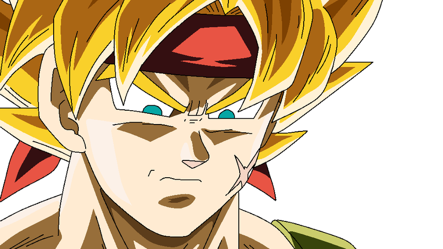 DBZ - Super Saiyan Bardock by powerthehedgehog1 on DeviantArt