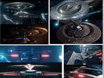 3189 Uss Discovery Ncc-1031 Refit Collage 2