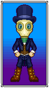 Mr. Gas Mask by TowmacowWaffles