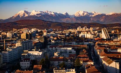 Capital city of Slovenia