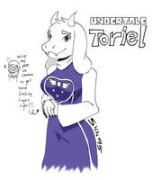 Toriel by SNN95
