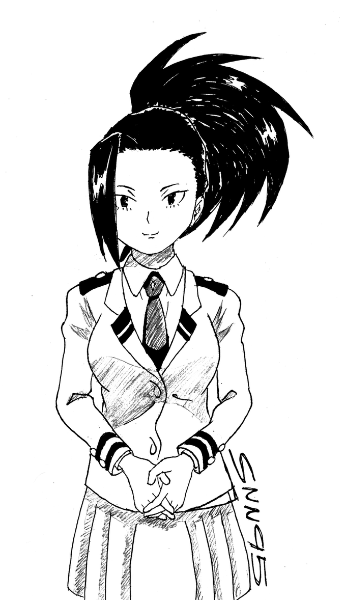 Momo Yaoyorozu by SNN95