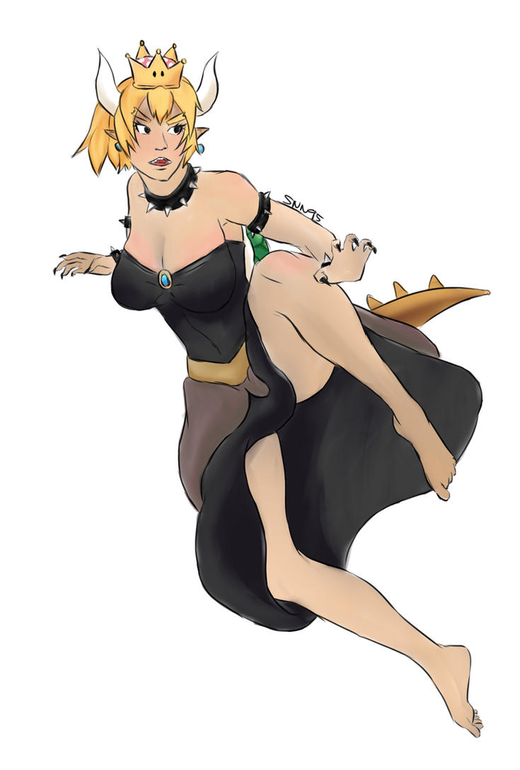 Bowsette by SNN95