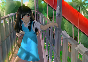 Malaysian school girl by SNN95