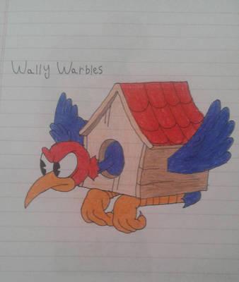Wally Warbles (My drawing) by PinkYazFlyChan