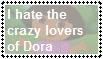 (Stamp) I hate the Dora lovers by PinkYazFlyChan
