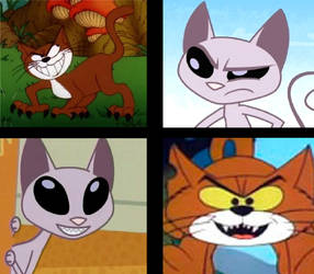CAT - Azrael x Mr Kat by PinkYazFlyChan