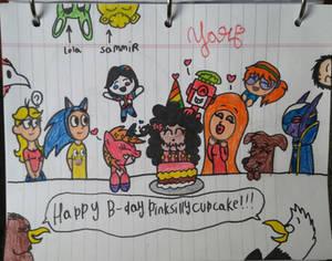 (Gift) Happy B-day, Cupcake!
