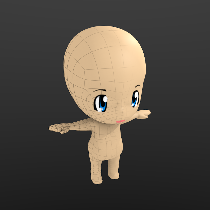 Blender Character Modeling 8 Of 10 : Blender character modeling download