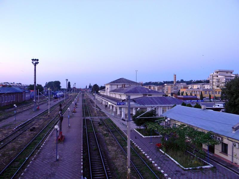 Pascani rail station by ranger2011