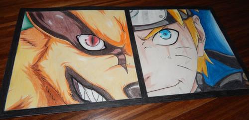 Kurama x Naruto