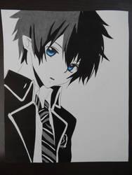 Okumura Rin - Ao No Exorcist (Blue Exorcist)
