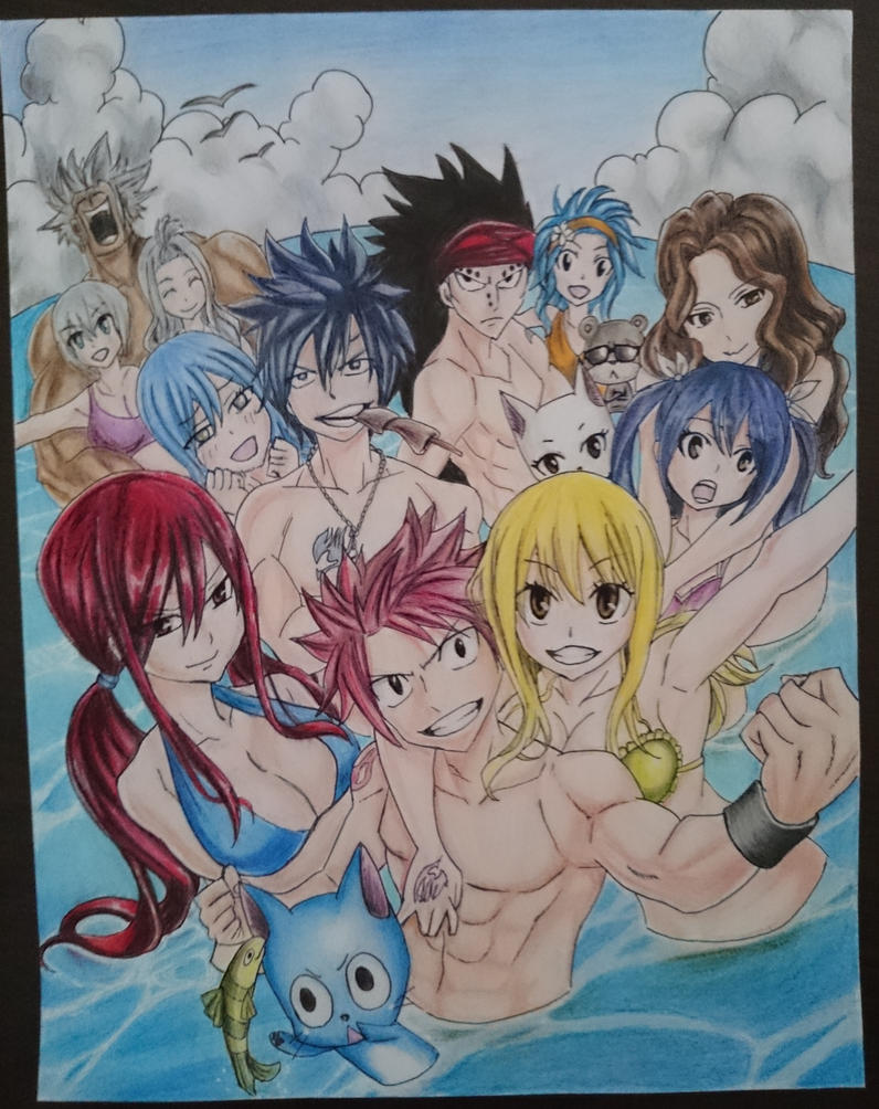 Fairy Tail by Delairine