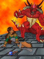Diablo II: End of legend by DeepWoodian