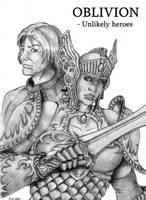 Oblivion: Unlikely heroes by DeepWoodian